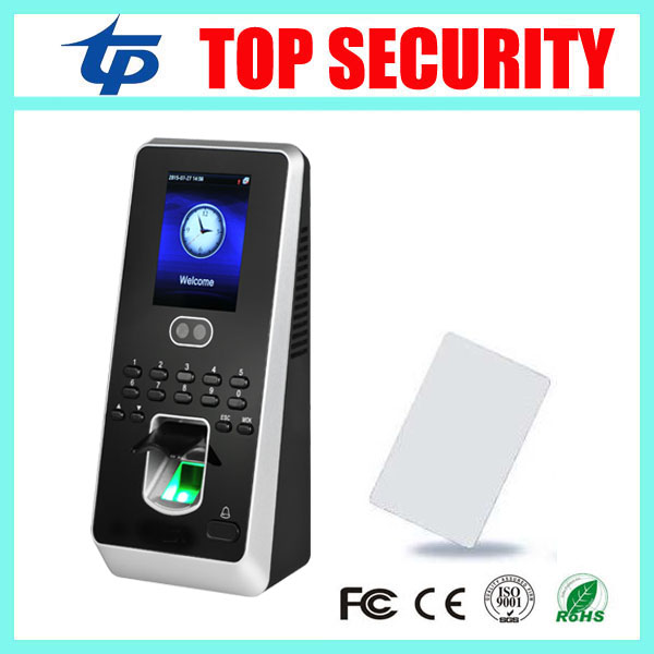 ZK multibio800 TCP/IP face access control system with fingerprint reader fingerprint access control with 13.56MHZ IC card reader