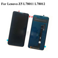 Black LCD+TP For Lenovo Z5 L78011 L78012 LCD Display with Touch Screen Digitizer Smartphone Replacement For Lenovo Z5 Z 5