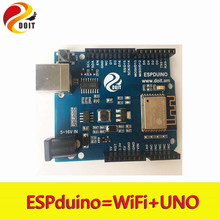 Official DOIT ESPDuino Robot WiFi Controller Compatible with Arduino UNO R3 Development Board from ESP8266 for Robotic Model