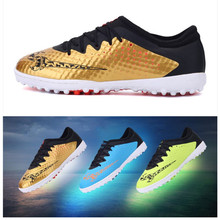 Kids' Sneakers youth Children's soccer nails men women students non slip wear resistant soccer shoes sports nail running shoes