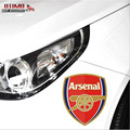 Free Shipping Europe Top Club Arsenal FC Car Head Stickers Truck Door Tail Decor Mural Art Vinyl Decoration Soccer Window Decals