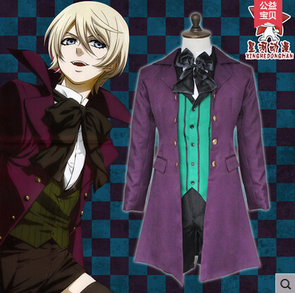 New Hot Anime Black Butler Cos Alois Trancy Cosplay ...