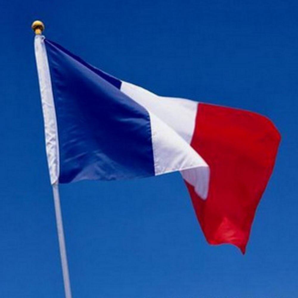 2016 NEW French flag 3*5 feet. polyester flag.90*150cm big ...