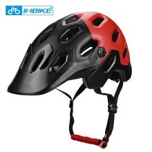 INBIKE Integrally-molded Mountain Bike Helmet Cycling Helmet MTB Road Bike Safe Cap Men Women 25 Air Vents XC AM Bicycle Helmet
