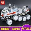 LEPIN 05031 933Pcs Star Wars Clone Turbo Tank 75151 Building Blocks Compatible With Lepin STAR WARS