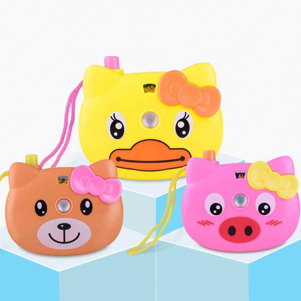 LeadingStar Educacional Brinquedo Câmera de Projeção Dos Desenhos Animados Teste Padrão Animal Luz Projeção Crianças Toy Cor Aleatória