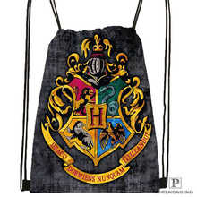Custom harry_potter_hufflepuff Drawstring Backpack Bag Cute Daypack Kids Satchel (Black Back) 31x40cm#20180611-02-96(China)