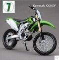 Горячая продажа KAWASAKI KX 450F Maisto 1:12 мотоциклов модель детские игрушки коллекция зеленый Горный велосипед подарок мальчик KTM Мотокросс KX450F