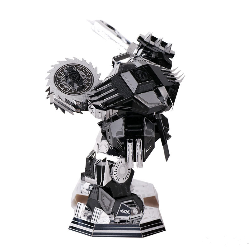US $17 38 5% OFF|MU Desperate Ripper Robot Destroyer Puzzle 3D Metal  assembly model Gift ornaments Creative toysIntellectual development DIY-in