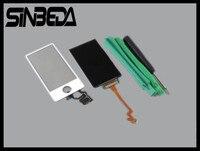 Sinbeda Için Yeni LCD Dokunmatik Ekran Digitizer Yedek iPod Nano 7 LCD Ekran + Dokunmatik Ekran Cam Digitizer Bağlayıcı Flex