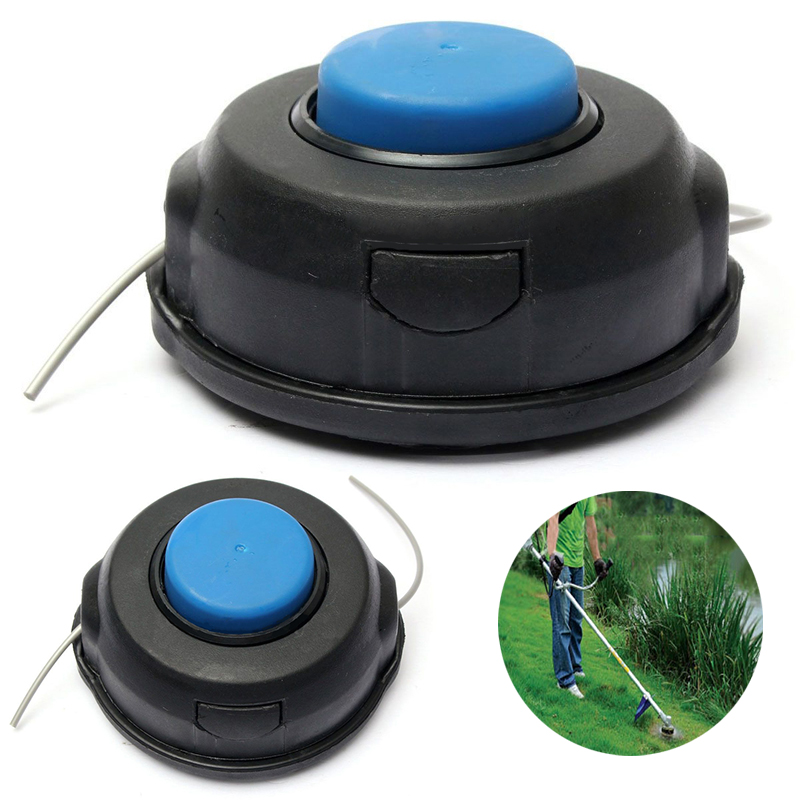 Black String Trimmer Head Nylon Line Lawn Mower Cutting Trimmer Head for Garden Tools Mayitr 2016 new garden tools top quality charging grass trimmer portable home lawn mower with wheels trimmer grass trim level machine