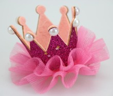 Little girls Photograph Crown First Birthday 1st Girl Cake Smash Outfit Princess Photo Prop