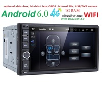FREEQuad Core Pure Android 1024 600 Resolution Car DVD 2 Din Universal Car DVD Player Double