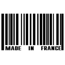 CS-1106#20*12cm Made in France funny car sticker vinyl decal silver/black for auto stickers styling