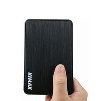 Kostenloser versand schwarz usb flash driver gehäuse HDD SSD usb box 2 5 ''sata zu 3 0 usb stick fall werkzeug freies hdd caddy Blueendless