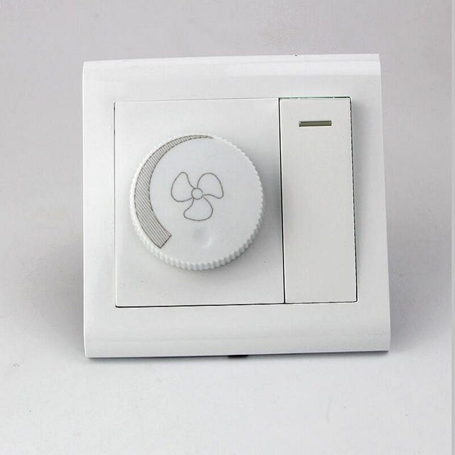 AC 220V 240V Universal Chandelier Fan Speed Switch Governor Wall Ceiling Fan  Household Light Dual Switch