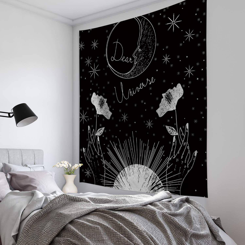 Tarot Card Tapestry Wall Hanging Astrology Divination Bedspread Yoga Beach Mats