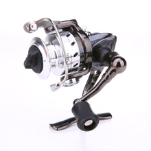 Ice Fishing Spinning Wheel Zinc Alloy Mini Pole Line Spinning Reels Lightweight Bait Casting Fishing Reel Gear Ratio 4.3:1