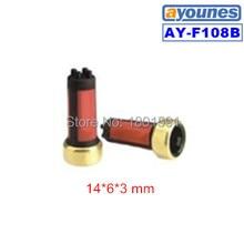 200 шт./компл. высокое качество 14*6*3 мм Топливный инжектор фильтра micro MMC Galant 6a13 (AY-F108B) MD619962