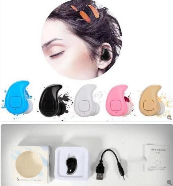 EntrüCkung Freies Dhl S530x Mini Wireless In-ear Kopfhörer Hände Frei Kopfhörer Blutooth Stereo Auriculares Earbuds Bass Bluetooth Headset