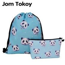 Новинка 2020 Модный женский рюкзак jom tokoy с тепловым принтом