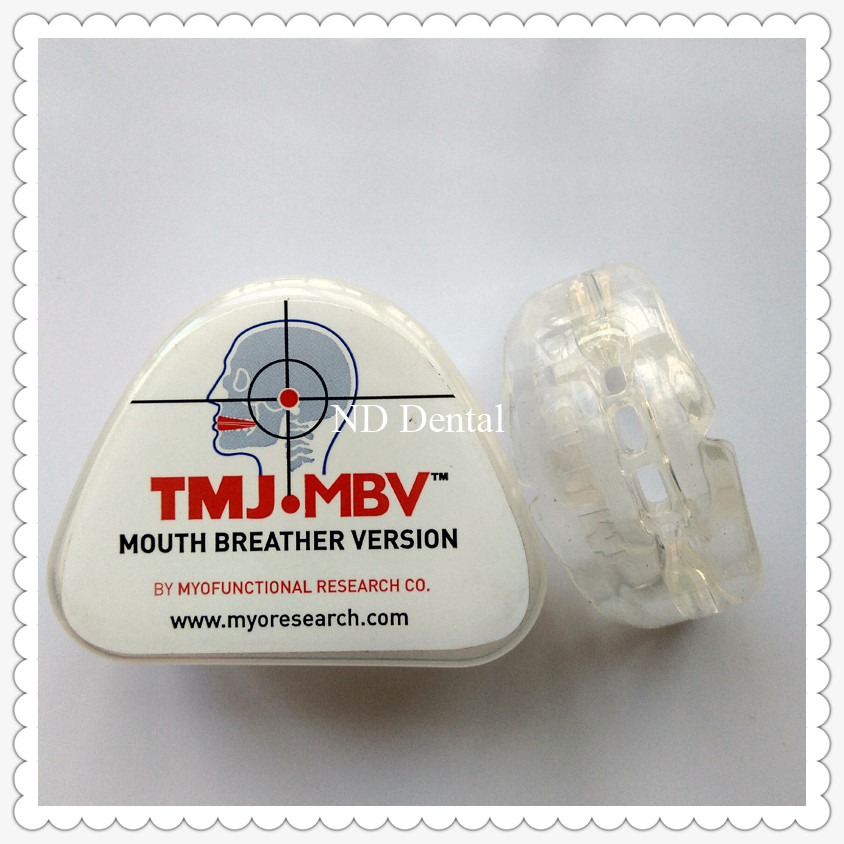 TMJ.MBV Teeth trainer for TMJ disorder/Adult use Dental Orthodontic Brace TMJ.MBV/Dental Orthodontic Teeth trainer Appliance dental orthodontic brace work with bracket b1 teeth trainer appliance correct myofunctional habits home use orthodontic brace