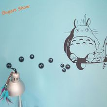 Totoro Vinyl Wall Anime Decals