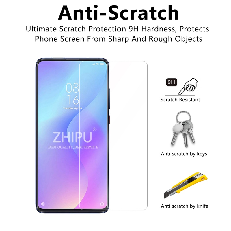 "Image 4 - 2 Pcs Tempered Glass For Xiaomi Mi 9T Screen Protector 2.5D 9H Tempered Glass For Xiaomi Mi 9T Pro Mi9T Protective Film 6.39""-in Phone Screen Protectors from Cellphones & Telecommunications"