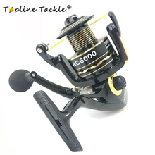 TopLine Tackle Original Daiwa AC1000 6000 Spinning Fishing Reel 5.5: 1 Gear Ratio 12BB Fishing Tackle Ocean Beach Fishing
