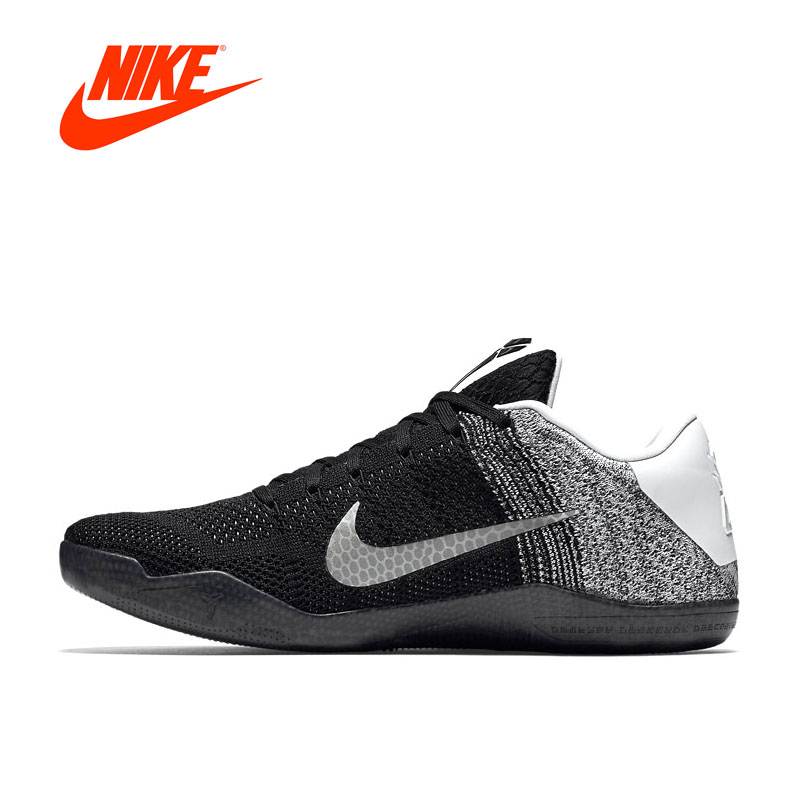 Original New Arrival Authentic Nike Kobe 11 Elite Low Men's Breathable Basketball Shoes Sports Sneakers Non-slip все цены