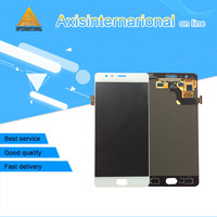 Axisinternational LCD Screen Display Touch Digitizer For Oneplus Three Oneplus 3 A3000 A3003 EU Version White