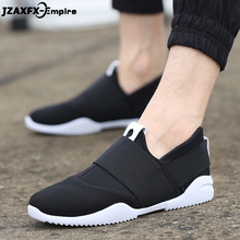 Men Loafers Shoes Casual 2019 Spring Summer Light Canvas Youth Breathable Fashion Flat Footwear