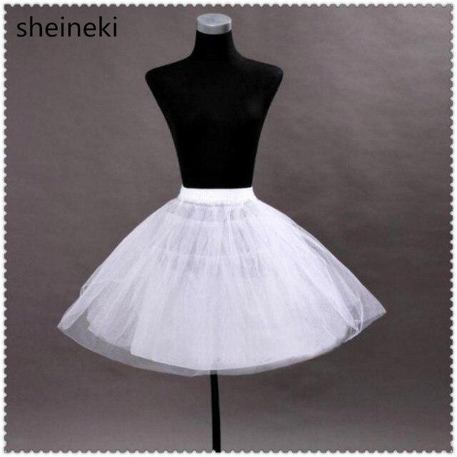 Barato Blanco Negro Corto Enaguas de La Enagua Crinolina Rockabilly Danza  Petticoat Vintage Retro Fancy Neto 4de0f6b85e0d