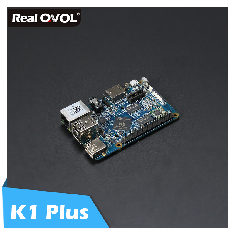RealQvol FriendlyARM NanoPi K1 Plus Allwinner H5 Quad core 64 bit A53 Mali450 2GB DDR3 RAM