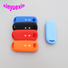 Xinyuexin Silicone Car Key Cover FOB Case For Mazda CX-5 /CX5 Atenza CX-7 CX-9 MX5 Remote Key 2 Buttons Case Cover Car-stying