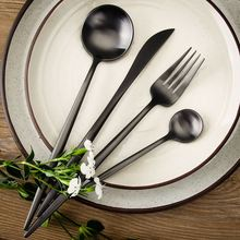 LEKOCH 5PCS Tableware Cutlery Dining Utensils Portable Camping Tourist Stainless Steel Dinner Dinnerware Set Fork Spoon Knife