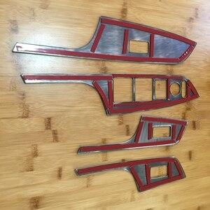 Image 5 - Poignée de porte, garniture de panneau de décoration intérieure pour Honda CRV CR V, 2012, 2013, 2014, 2015, 2016, lève vitre