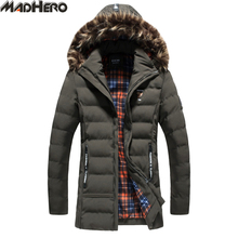 Фотография MADHERO Fur Collar And Hat Detachable Warm Snow Men