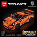 LEPIN 20001 Technic 911 GT3RS Modelo Bloques De Construcción Juguetes de Los Ladrillos Compatible con Legoe 42056 mejor regalo para niño modelo de coche de juguete