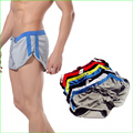 MRS03 Hot Sports Men Polyester Quick Drying Running Shorts Summer Beach Sexy Shorts