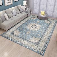 Marokański dywan do salonu strona główna Vintage dywaniki do sypialni amerykańskie dywany Sofa stolik dywan gabinet etniczne maty podłogowe w Dywany od Dom i ogród na