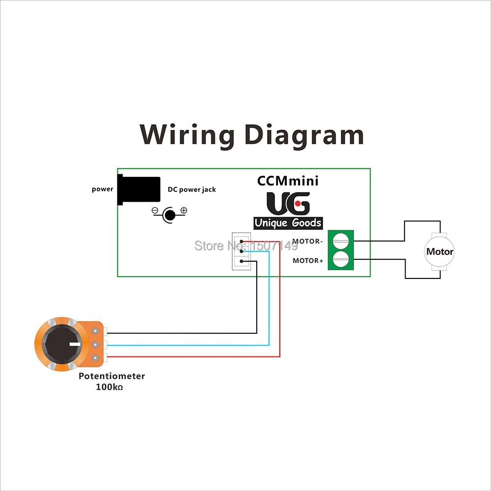 WRG-1822] Potentiometer Wiring Diagram