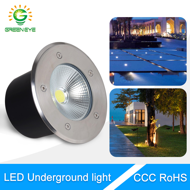 Led Lamps Ip68 Waterproof 1w 3w 5w Led Underground Light Ac 85-265v Outdoor Buried Lamp For Ground Garden Path Floor Yard Spot Landscape Lights & Lighting