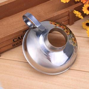 Image 3 - Imbuto per scatolamento acciaio inossidabile bocca larga imbuto per imbuto filtro per tramoggia perdita a bocca larga lattina per olio vino cucina utensili da cucina
