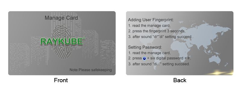 HTB134uYjTnI8KJjy0Ffq6AdoVXaI RAYKUBE Biometric Fingerprint Door Lock Intelligent Electronic Lock Fingerprint Verification With Password & RFID Unlock R-FZ3