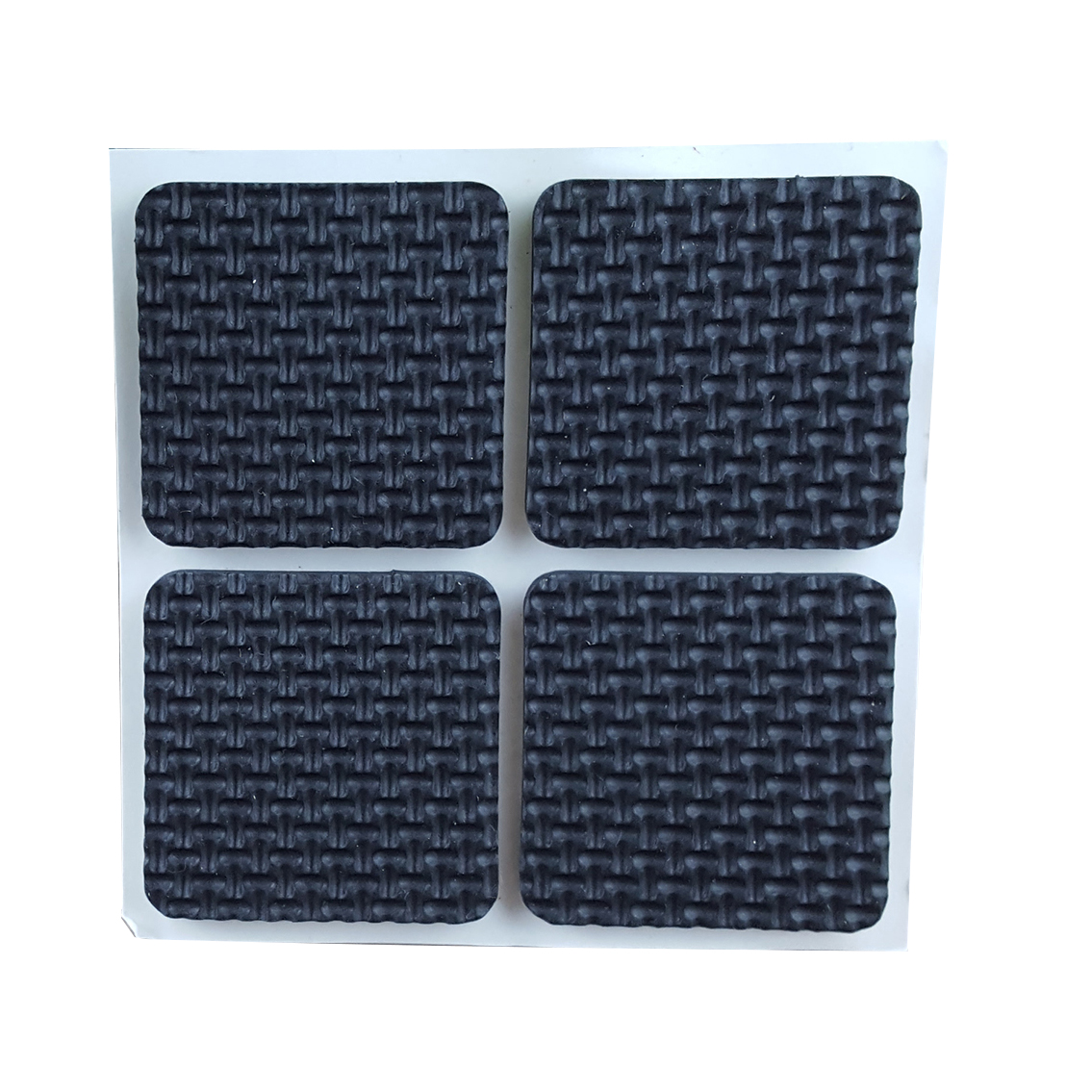 HOT SALE Home Anti Scratch Square Shaped Furniture Feet Protection Pad Mat 8pcs hot sale c shaped waterfall acrylic occasional side table