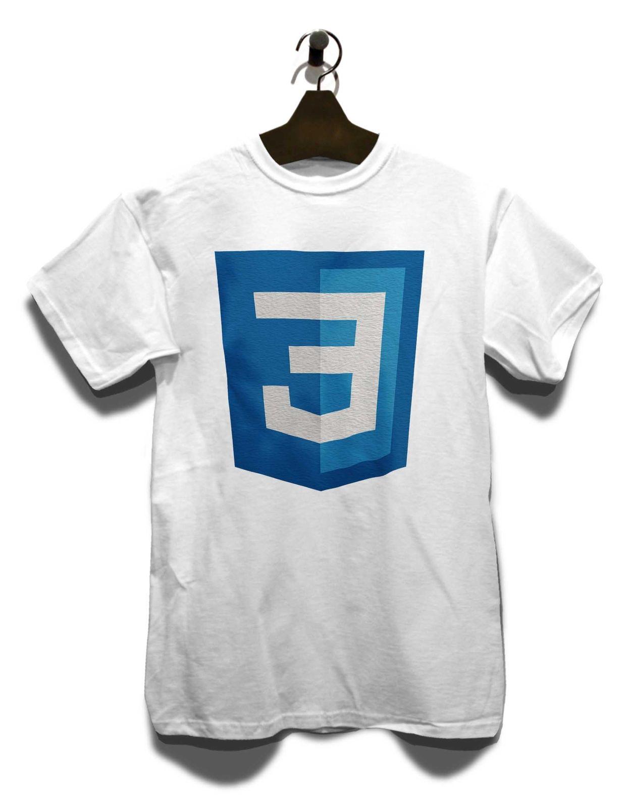 Css3 Logo T Shirt Valley Neu Silicon Geek TV Serie Nerd