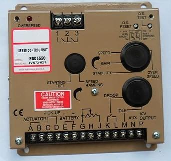 Free Shipping ESD5550 SPEED CONTROL UNIT Generator accessories speed controller governor speed control board free shipping deep sea generator set controller module p5110 generator control panel replace dse5110