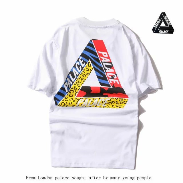 0f5e92a22ef5 Palace Skateboards Classic Tri wild Flower Floral Triangle Triferg Mens Hip  Hop Summer Noah Clothing Gosha Rubchinskiy T Shirts-in T-Shirts from Men s  ...