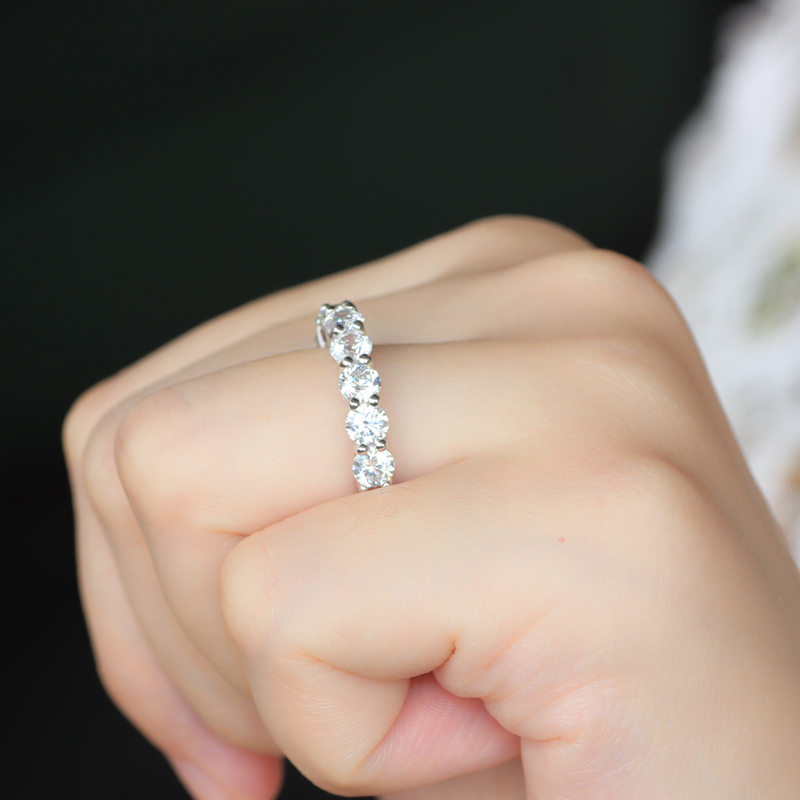 band carat stone bands diamond anniversary retail price value c item stlrg